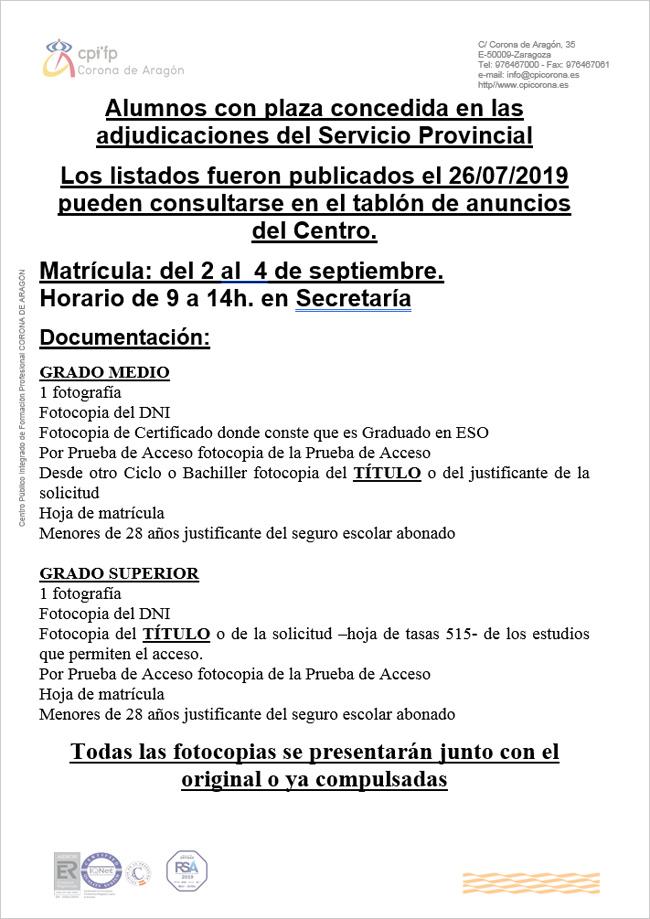 Educaragon Calendario Escolar 2020.C P I F P Corona De Aragon